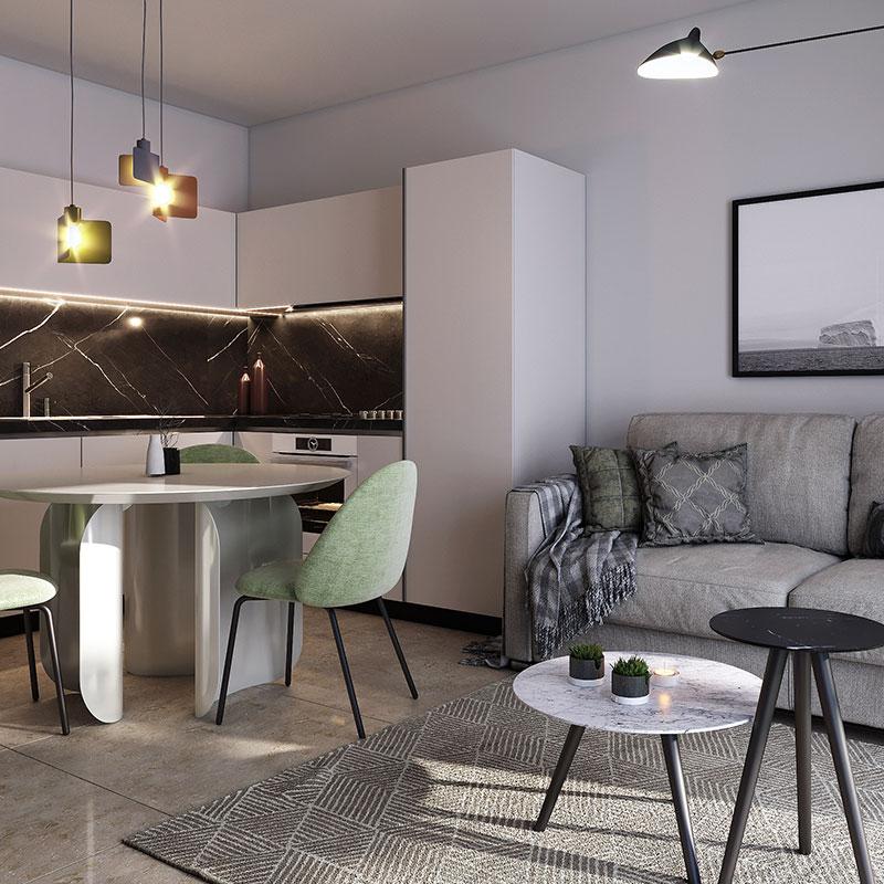 cucina-interni-comfort-le-dune-silvi-marina-appartamento