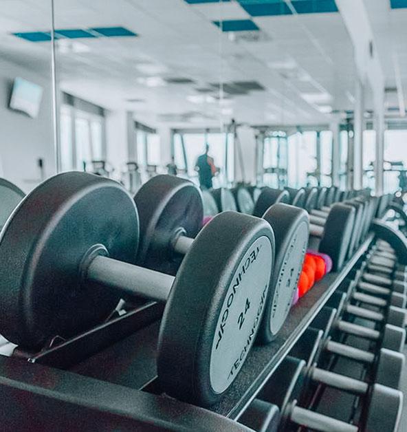Manubri-Rack-Le-Dune-Fitness-Palestra-Silvi-Marina