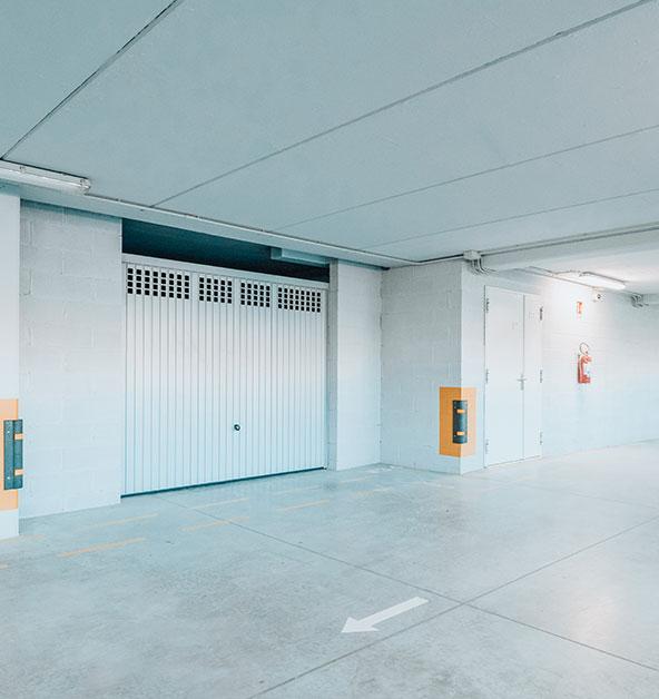 Dettaglio-garage-posto-auto-parcheggio-interno-Silvi-Marina-Le-Dune-lotto-B